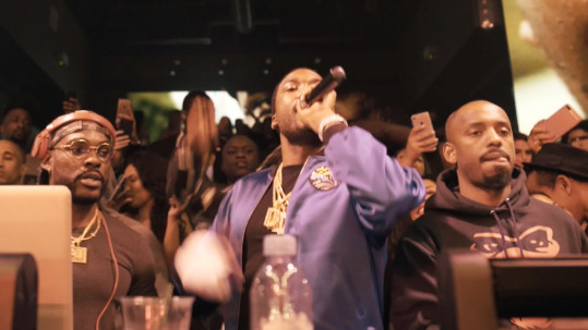 Meek Mill I'm A Boss Performance During Miami Spring Break at STORY Nightclub